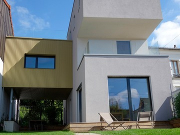 Upon request: Maison neuve d'architecte Montreuil